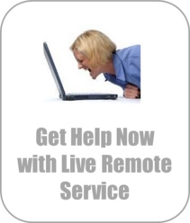 How to hook up scanning, printing, live remote service