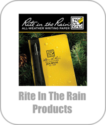 Rite In The Rain Products, Paper, Notebooks, Pens