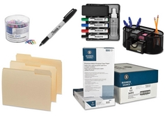 Office Supplies, Furniture, Shredders, Technology Items