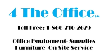 4 The Office, Copier, Copiers, Laser Printers, Wide Format Printers, Office Supplies, Shredders, Office Furniture